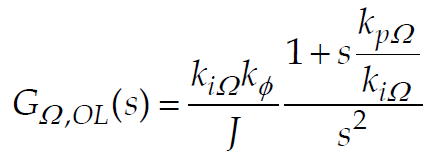 Transfer Function of Speed Loop of DC Motor-1