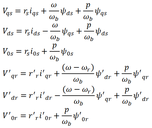 IM State Space Equation (3)