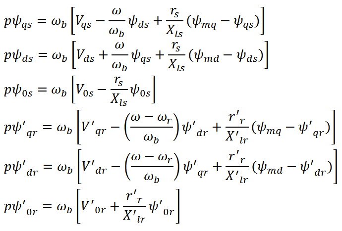 IM State Space Equation (7)