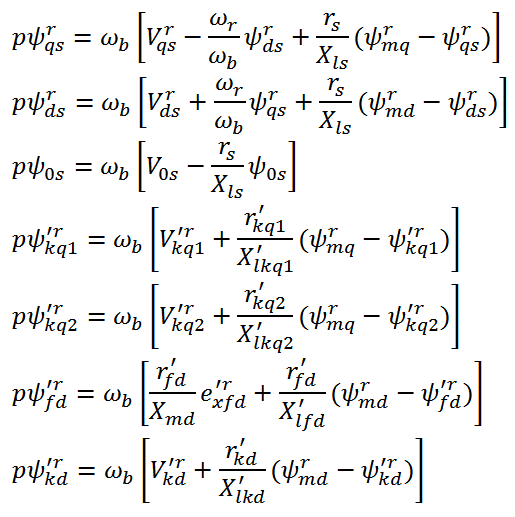 State Equation of Synchronous Machine (6) فیلم آموزش شبیه سازی متلب