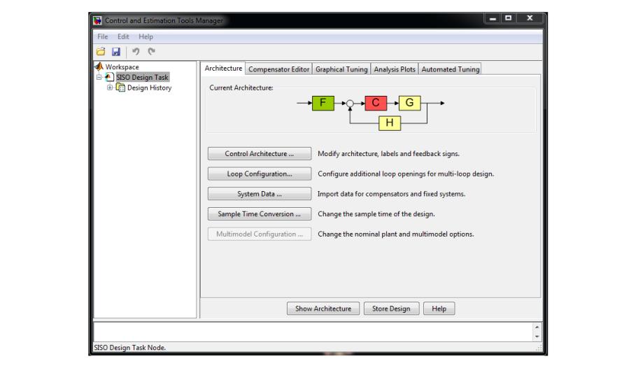 طراحی کنترل کننده با تولباکس Matlab (بخش اول)