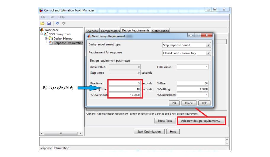 طراحی کنترل کننده با تولباکس Matlab (بخش دوم)